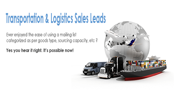 Transportation Sales Leads and Logistics Sales Leads